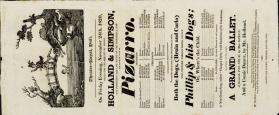 Playbill, Theatre-Royal, Hull. November 24, 1820
