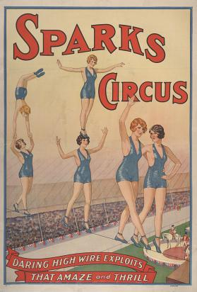 Sparks Circus: Daring High Wire Exploits