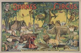 Al. G. Barnes Big 4 Ring Wild Animal Circus: The Greatest and Costliest Collection of Wild Animals