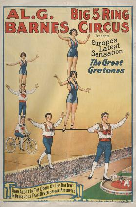 Al. G. Barnes Circus: The Great Gretonas