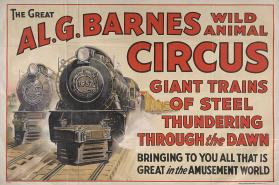Al. G. Barnes Circus: Locomotives