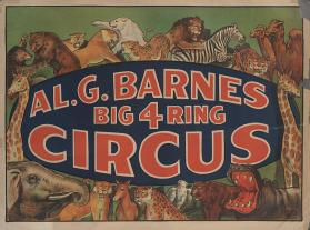 Al. G. Barnes Circus: Animals