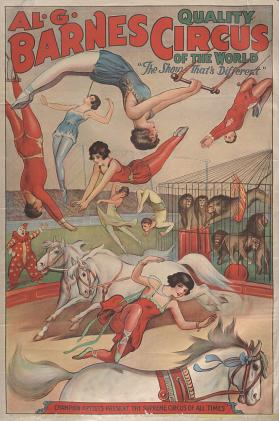 Al. G. Barnes Circus: Supreme Circus Of All Times