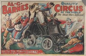 Al. G. Barnes Circus: Up To the Minute Clowns