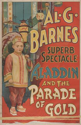Al. G. Barnes Circus: Aladdin and the Parade of Gold