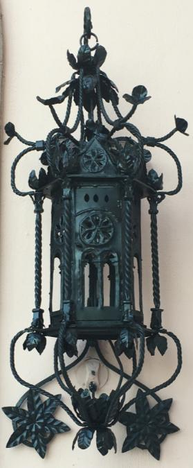 Wrought Iron Lantern