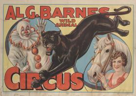 Al. G. Barnes Circus: Clown