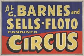 Al. G. Barnes-Sells Floto Combined Circus: Title Bill