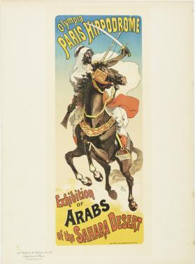 Exhibition of Arabs of the Sahara Desert at Olympia Paris Hippodrome