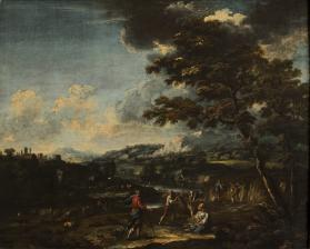 Landscape with Ruth and Boaz