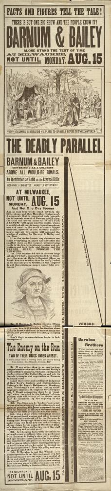 Barnum & Bailey: August 15, 1892