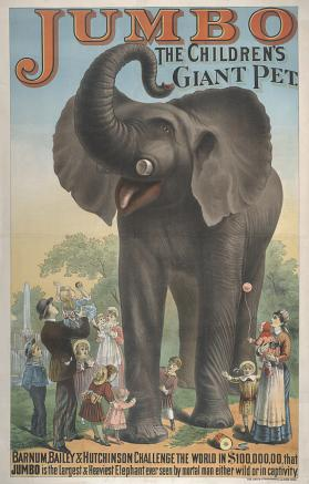 Barnum & London: Jumbo the Children's Giant Pet