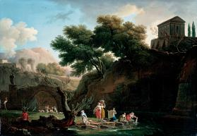 Landscape with Laundresses