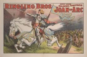 Ringling Brothers: Joan Of Arc On Charging Horse