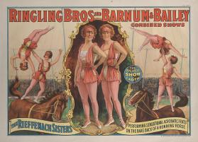 Ringling Bros. and Barnum & Bailey: Rieffenach Sisters