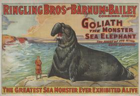 Ringling Bros. and Barnum & Bailey: Goliath the Monster Sea Elephant