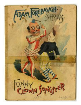 Adam Forepaugh Shows Funny Clown Songster