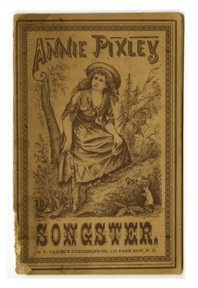 Annie Pixley's Songster