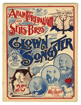 Adam Forepaugh and Sells Bros. Enormous United Shows Clown Songster