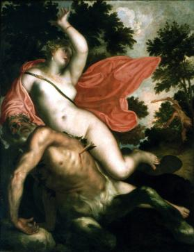 Abduction of Deianira by the Centaur Nessus