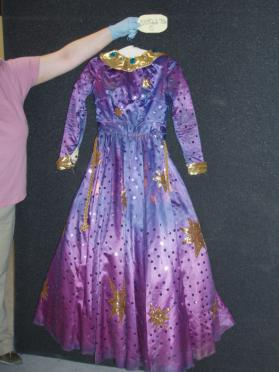 Berbitta Bertilson's costume for Glynda the Good Fairy