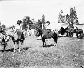 Nellie Conner Sidesaddle on Horse