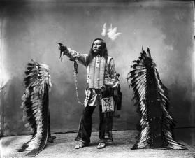 Native American in Tribal Dress