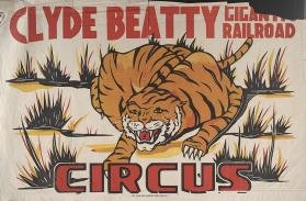 Clyde Beatty: Tiger