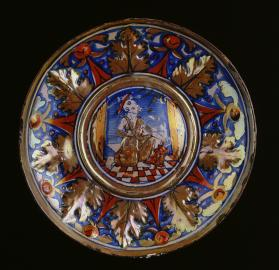 Bowl with Saint Jerome