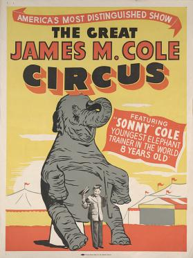 James M. Cole: Sonny Cole, Elephant Trainer