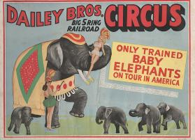 Dailey Bros.: Only Trained Baby Elephants