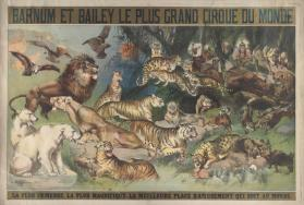 Barnum & Bailey: La Plus Immense La Meilleure Place D'Amusement