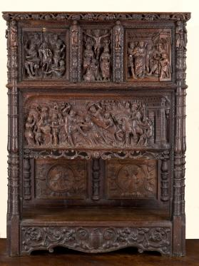 Dresser With Scenes of the Passion