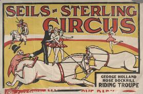 Seils-Sterling: George Holland-Rose Dockrill Riding Troupe