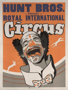Hunt Bros. Present Royal International Circus: Clown
