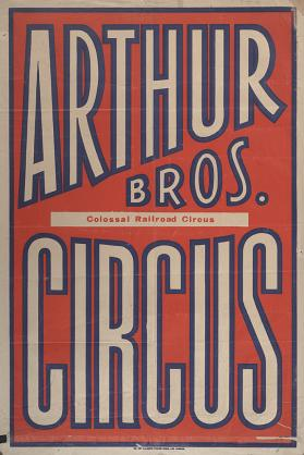 Arthur Bros.: Title Bill