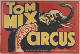 Tom Mix Circus: Elephant