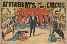 Atterbury's Big Elephant Circus: Pony Act