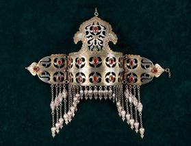 Articulated Headpiece with Pendants (Ildirgic)