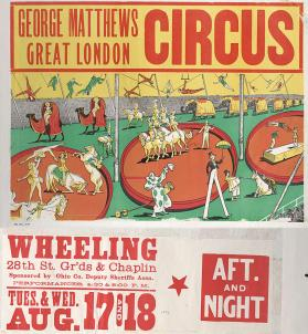 George Matthew's Great London: Inside the Big Top