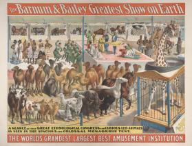 Barnum & Bailey: A Glance at the Great Ethnological Congress