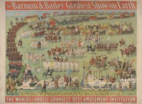 Barnum & Bailey: An Entire Street Parade