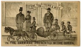 General Tom Thumb: Carriage presented by the Queen