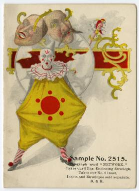 Sample No. 2515: Clown in yellow