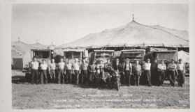"""The Power Behind The Circus""; P.A. MacGrath Tractor Dept.- Hagenbeck-Wallace Circus"