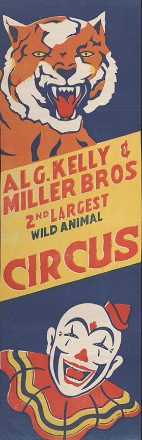 Al G. Kelly-Miller: Tiger and Clown
