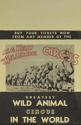 Al G. Kelly-Miller: Elephant Long Mount