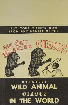 Al G. Kelly-Miller: Lion Trainer