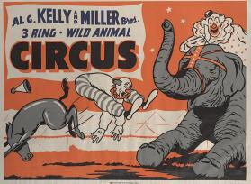 Al G. Kelly-Miller: Clowns and Animals