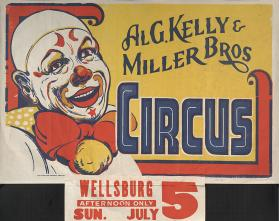 Al G. Kelly-Miller: Clown